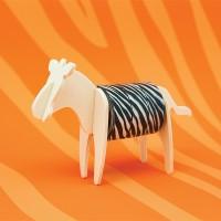 [원더스토어] 럭키스 동물 마스킹 테이프 얼룩말_(905952)