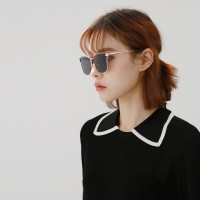 Basic black sunglasses