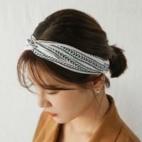 laurel stripe hairband