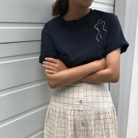 오뜨 실루엣 티셔츠