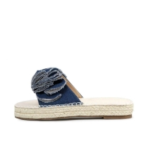 kami et muse Vitage frill top espadrile slippers_KM17s281