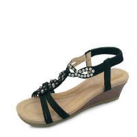 kami et muse Beads flower middle wedge sandals_KM17s283
