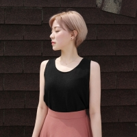 Linen sleeveless