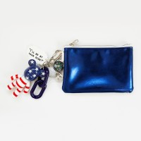 성조기 b612 card/coin case wallet (blue)