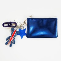 유니온 잭 b612 card/coin case wallet (blue)