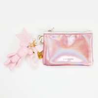 스트로베리 b612 card/coin case wallet (pink)
