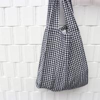 [haku.haru] cooing check vinyl bag (2 size)