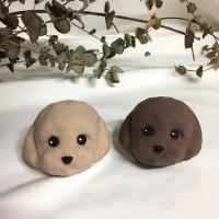초코 강아지 차량용 석고방향제