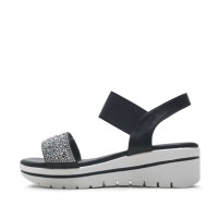 kami et muse Elastic top beads wedge sandals_KM17s301