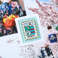 KYOTO SET [히치하이커 + PLAYing 뱃지]