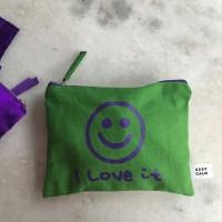 [킵캄]smile pouch_green/s size