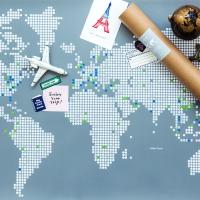 줄라이닷츠 세계지도 [M] (Julydot Worldmap [M])