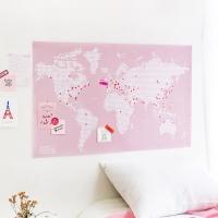 줄라이닷츠 세계지도 [L] ((Julydot Worldmap [L])