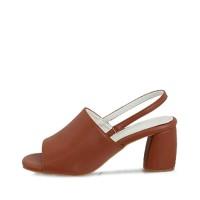 kami et muse Toe open mininal style heel sandals_KM17s312