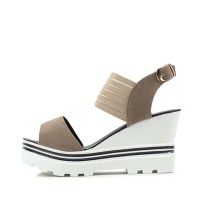 kami et muse Banding top platform wedge heel sandals_KM17s307