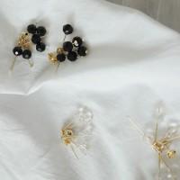 86 - five twig drop earring