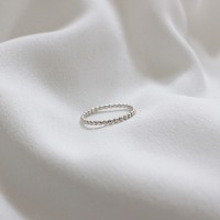 Dot ring (실버 도트반지) [92.5 silver]