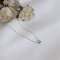 Silver ball anklet (실버 은볼 발찌) [92.5 silver]