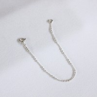Dot chain bracelet (은볼 팔찌)[92.5 silver]