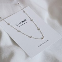 Mirror ball anklet (은볼발찌) [92.5 silver]
