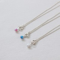 Opal anklet 3colors (오팔 발찌) [92.5 silver]