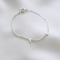 Moonstar anklet (달별 발찌) [92.5 silver]