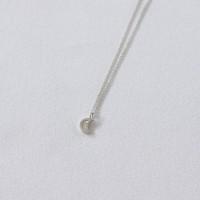 Moonlit necklace (실버 달 목걸이) [92.5 silver]