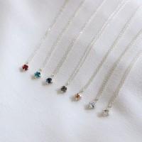 별똥별 목걸이 (Swarovski 7 colors) [92.5 silver]