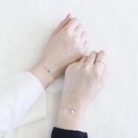 Opal bracelet 3colors (오팔 팔찌) [92.5 silver]
