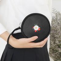디랩x마리몬드 Pang Pang Pouch - 동백(블랙)+태슬 블랙