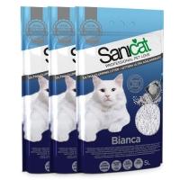 사니캣 고양이 모래 - 비앙카 5L 3개