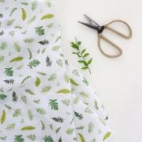 [Fabric] 100% 퓨어라미 Fern (고사리패턴)