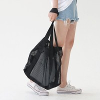 Mesh see-through bag