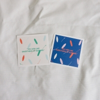 패턴 썸머 엽서 - 세트 (pattern summer post card - set)