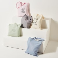 [Ro-Co Bag] 로맨틱 레터링 에코백 RMAK724GM1