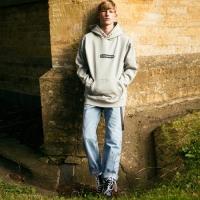 UNISEX LONDON EYELET HOODIE atb100(Gray)_(902389935)
