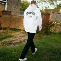 UNISEX LONDON EYELET HOODIE atb100(White)_(902389936)
