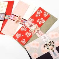 전통 꽃문양 용돈봉투