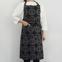 button up long apron