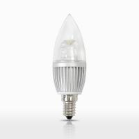 LED투명 촛대구램프 4W (E14)