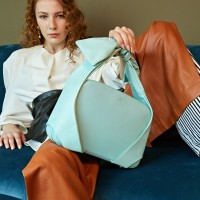 VICTORIA TOTE BAG(LARGE)_MINT