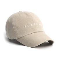 UNDER PLATEAU LOGO CAP_BEIGE