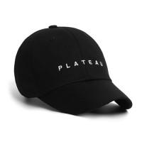 UNDER PLATEAU LOGO CAP_BLACK