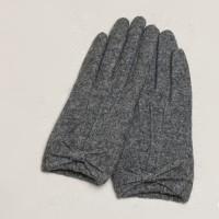 Ribbon Wool Gloves