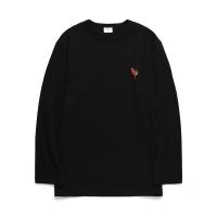 [HEAVYWEIGHT] 패럿 포인트 10수 긴팔 티셔츠_블랙 (WDTS201)