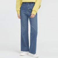 thick washing denim pants_(700534)
