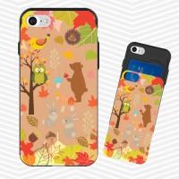 냥코케이스 슬라이더케이스 가을동화숲속(akimori)