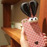 큐티 토끼 아이폰 케이스