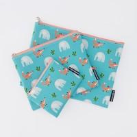 여우와 코끼리 오션블루(3size)