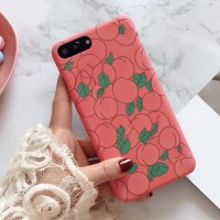 핑크 피치 하드케이스 애플4기종